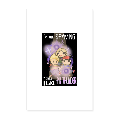 PK Thunder Poster - Poster 20x30 cm