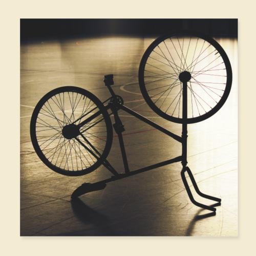 Poster | Radball | Cycle Ball 05 - Poster 20x20 cm