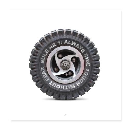 toughwheel - Poster 20x20 cm