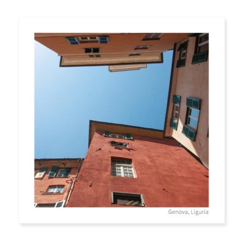 Ciel de Gênes - Poster 20 x 20 cm