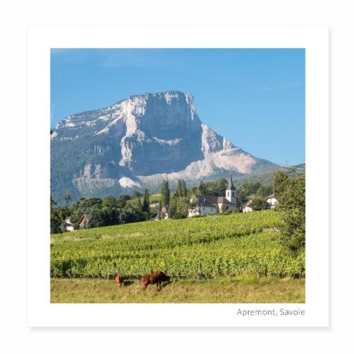 Village d'Apremont - Poster 20 x 20 cm