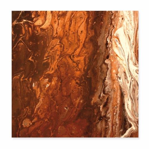 Copperwood - Poster 20x20 cm