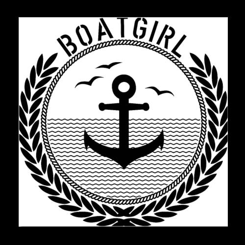 BoatGirl - Anchor - Poster 20x20 cm