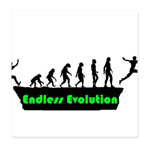 Endless Evolution - Poster 20x20 cm
