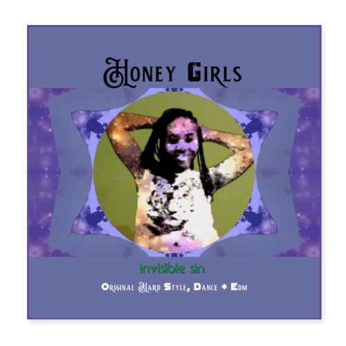 Honey girls poster [size 1] - Poster 20x20 cm