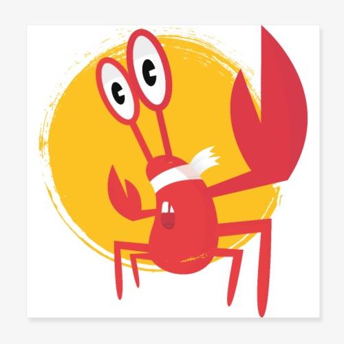 lobster - Poster 20 x 20 cm