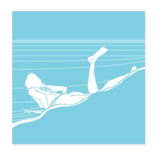 Take off - Poster 20 x 20 cm