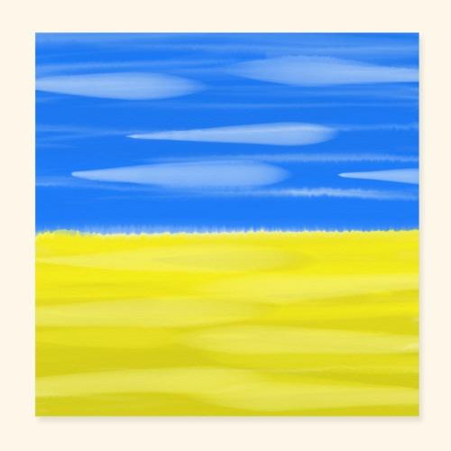 Scanian Landscape - Poster 20x20 cm
