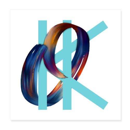 OK - Poster 8 x 8 (20x20 cm)