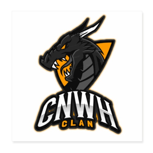 CnWh Clan Merch - Poster 20x20 cm