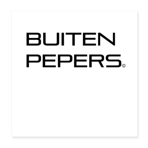 Buitenpepers - Poster 20x20 cm