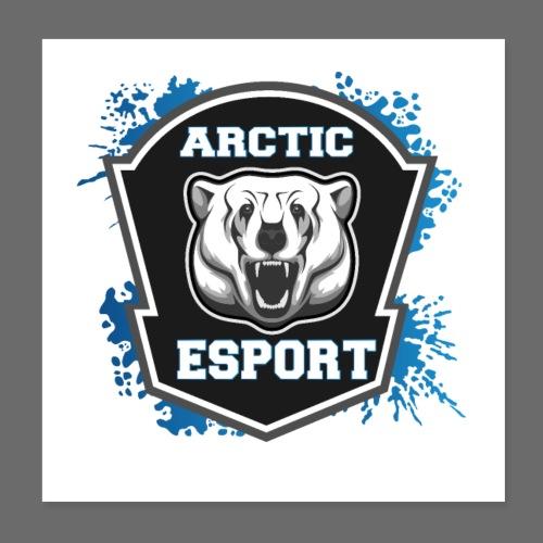 Arctic Esport Team Logo - Poster 8 x 8 (20x20 cm)