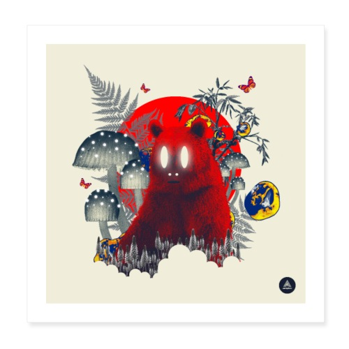 Red Specter - Poster 8 x 8 (20x20 cm)