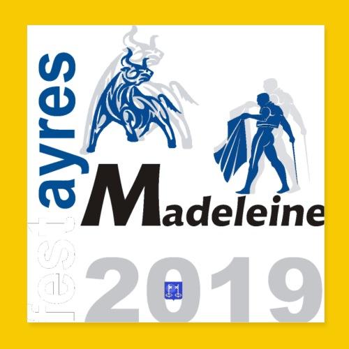MADELEINE2019 - Poster 20 x 20 cm