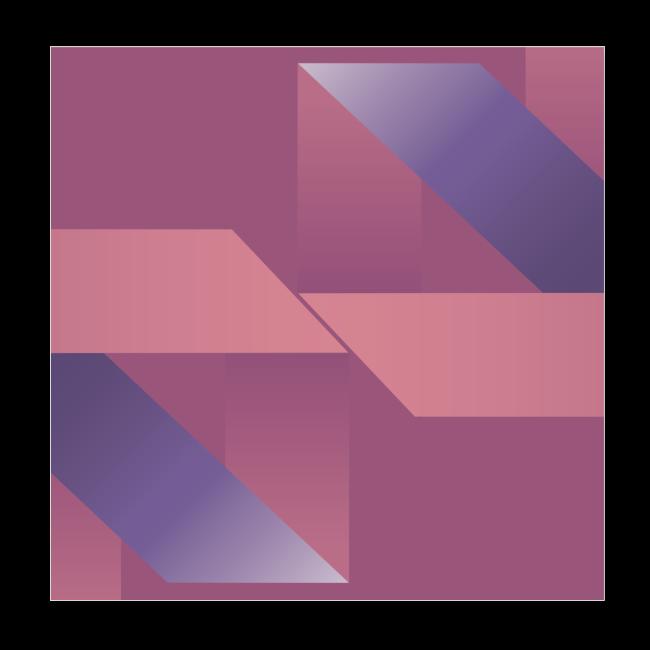Abstrakt Geometrische Vintage Komposition