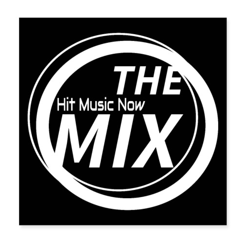 THE MIX - Hit Music Now - Poster 20x20 cm