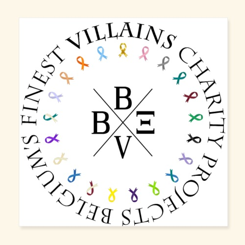 BVBE Charity Projects - Poster 8 x 8 (20x20 cm)
