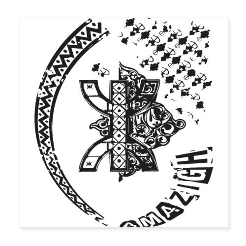 amazigh - Poster 20 x 20 cm