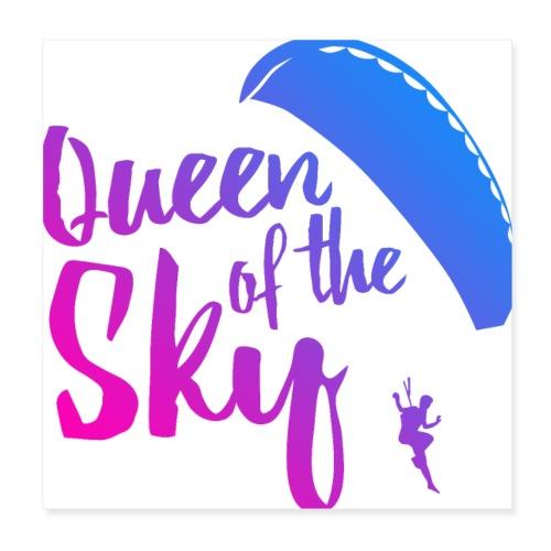 Queen of the Sky - Poster 20x20 cm