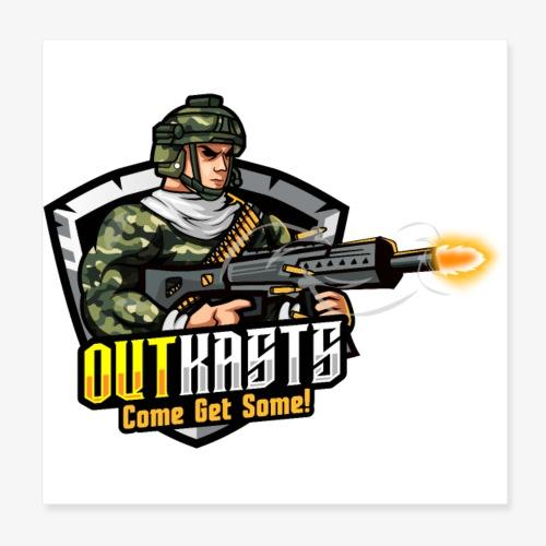 OutKasts [OKT] Logo 2 - Poster 8 x 8 (20x20 cm)
