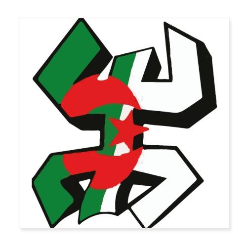 algérien - Poster 20 x 20 cm