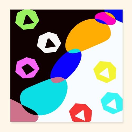 Artistico 48 - Poster 20x20 cm