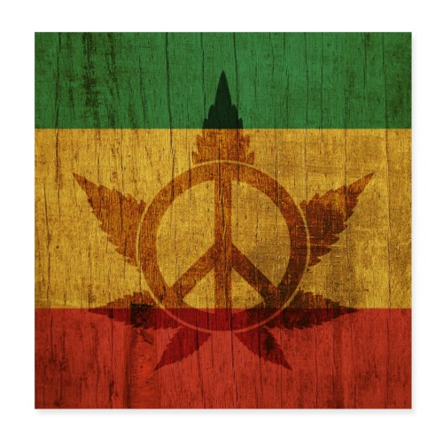Peace Poster - Poster 20x20 cm