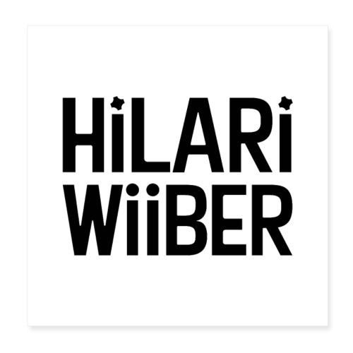 Hilari Wiiber Family - Poster 20x20 cm