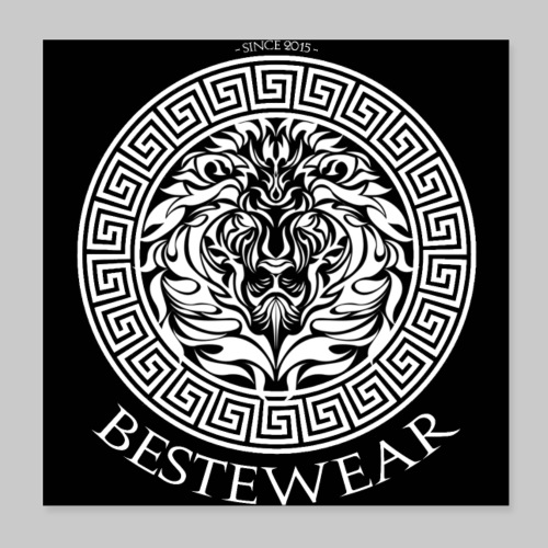 #Bestewear Löwe - Poster 20x20 cm