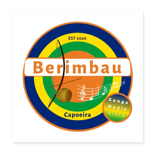 Berimbau 27 - Poster 20x20 cm