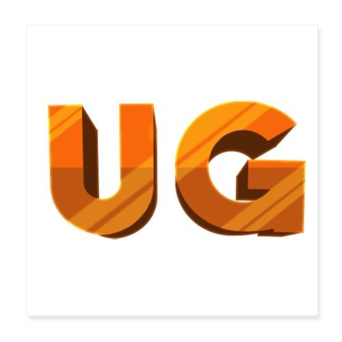 UnfireGames - Poster 20x20 cm