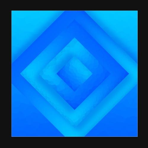 Water Diamond - Poster 20x20 cm