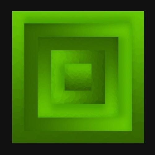Tree Cube - Poster 20x20 cm