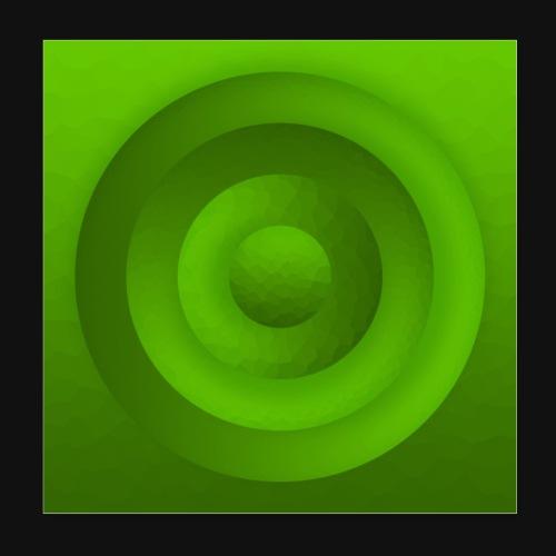 Tree Circle - Poster 20x20 cm