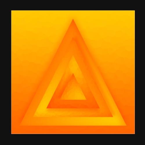 Sun Pyramid - Poster 20x20 cm