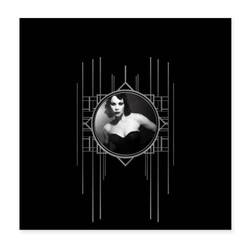 Femme Fatale Xarah Design 2 - Poster 8 x 8 (20x20 cm)