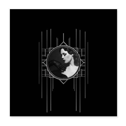 Femme Fatale Xarah Design 3 - Poster 8 x 8 (20x20 cm)