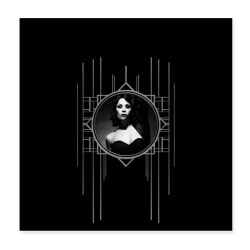 Femme Fatale Xarah Design 1 - Poster 8 x 8 (20x20 cm)