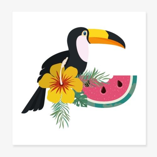 Tropical (Autor: grmarc) - Póster 20x20 cm