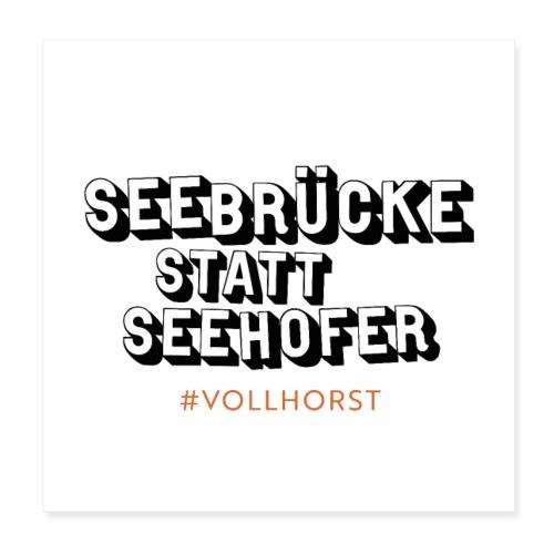 Vollhorst - Poster 20x20 cm