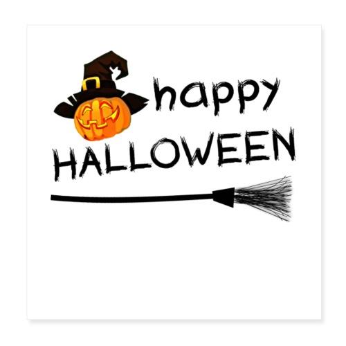 Happy halloween - Poster 20x20 cm