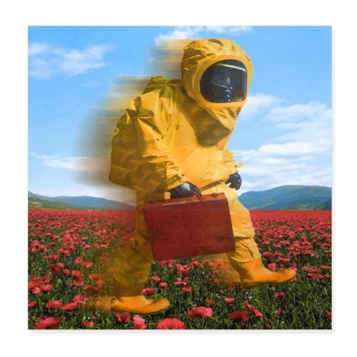 Quarantine Flight - Poster 8 x 8 (20x20 cm)