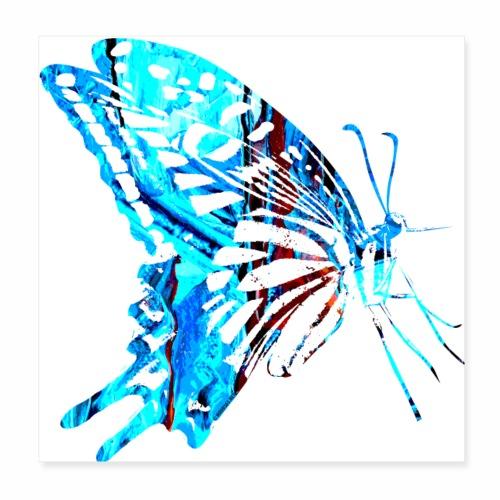 Butterfly, perhonen T Shirts, Hoodies, Gifts - Juliste 20 x 20 cm