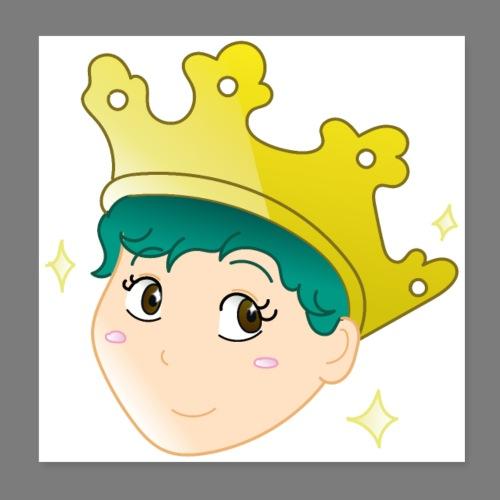 Wear a Crown - Poster 8 x 8 (20x20 cm)