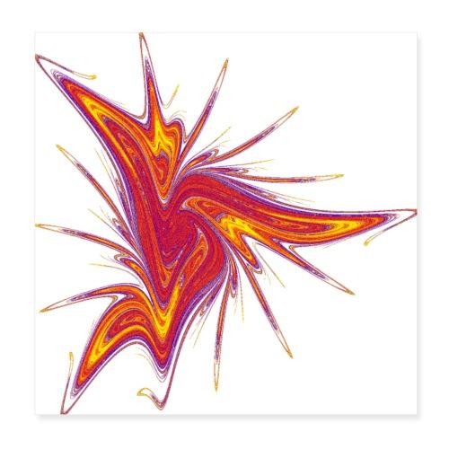 Lausebengel Starfish Sea Urchin Sea Animals 2953bry_P - Poster 8 x 8 (20x20 cm)