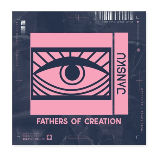Fathers of Creation - JΛNSKU - Juliste 20 x 20 cm