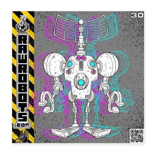 The S.E.E K. Robot! - Poster 20x20 cm