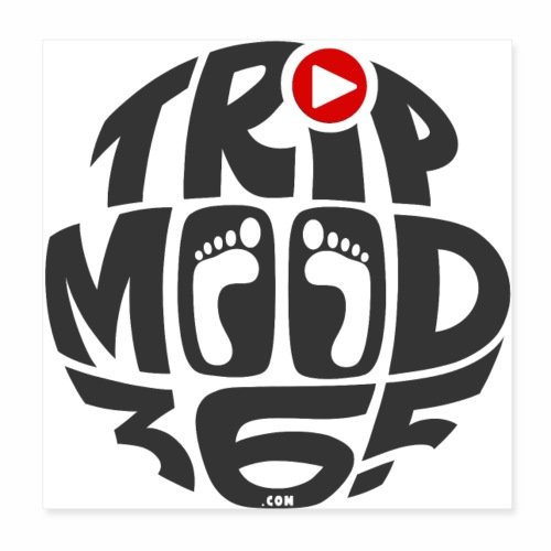 TRIPMOOD365 Traveler Clothes and Products - Juliste 20 x 20 cm