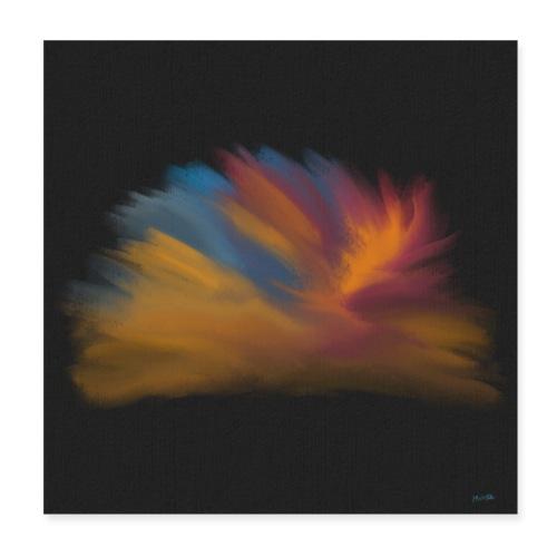 Noisy Plume - Poster 20x20 cm