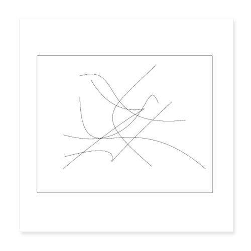 Modern Art - Poster 20x20 cm